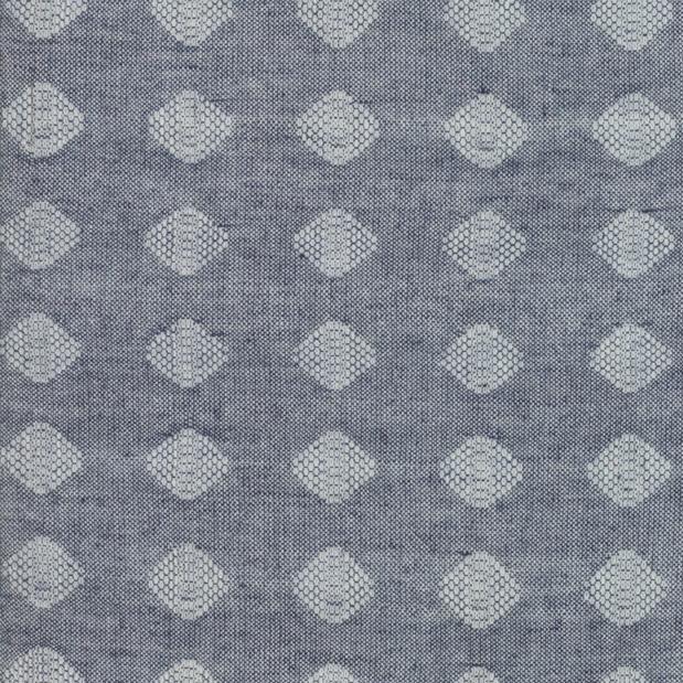 Moda Boro Woven in Indigo, Fabric Half-Yards 12560 41