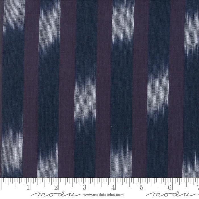 Moda Boro Woven in Dark Indigo, Fabric Half-Yards 12560 36