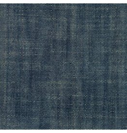 Moda Boro Woven Slub Canvas in Dark Indigo, Fabric Half-Yards 12560 38