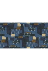 Moda Boro, Bodoko in Indigo, Fabric Half-Yards 33400 14