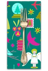 Christmas Collection Holiday, Brite in Kitschy, Dinner Napkin