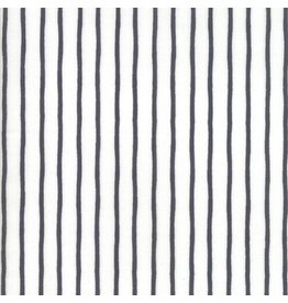 Moda Lollipop Garden, Black and White Stripes, Fabric Half-Yards 5086 21