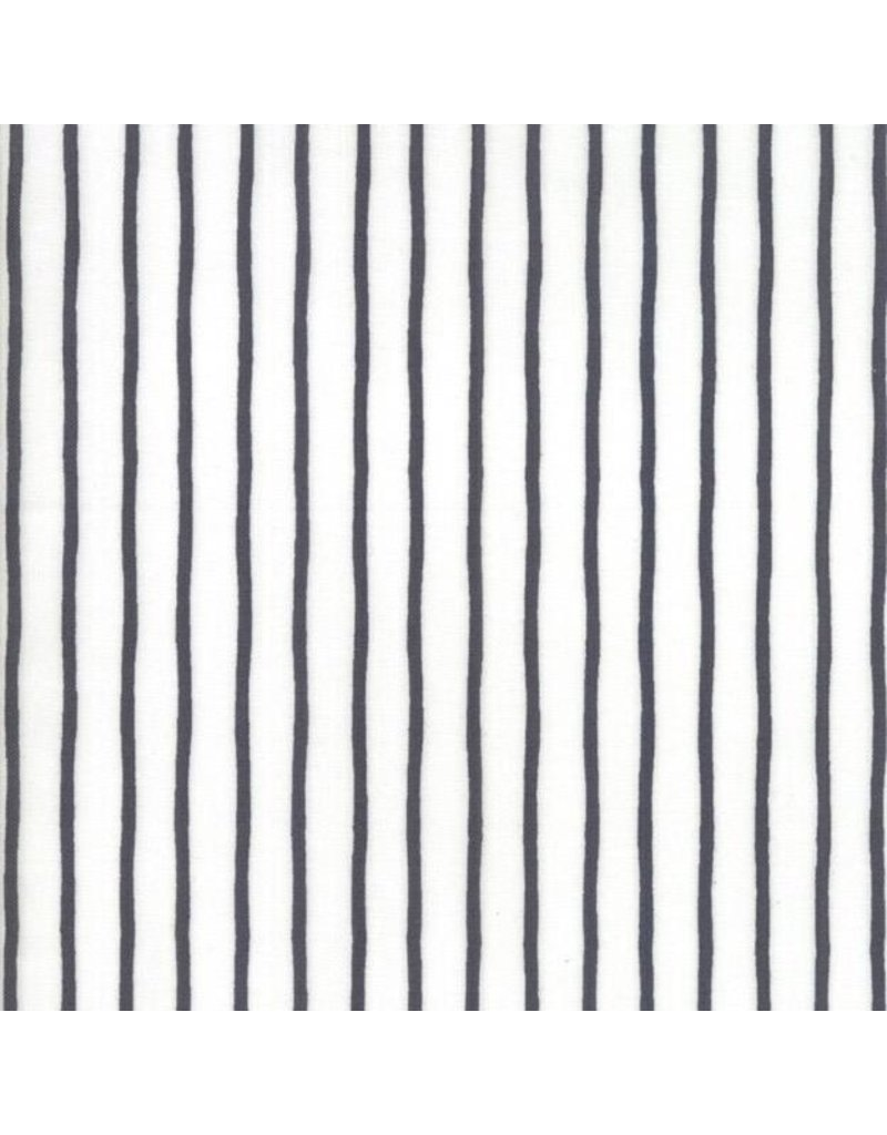 Moda Lollipop Garden, Black and White Stripes, Fabric Half-Yards 5086 21