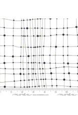 Zen Chic Day in Paris, Net in Chalk with Metallic, Fabric Half-Yards 1682 11M