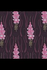 Rae Ritchie ON SALE-Magik Sanctuary, Foxglove in Blackberry, Fabric Half-Yards STELLA-SRR860
