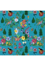 Souvenir, On My Way in Water, Fabric Half-Yards PWNL001