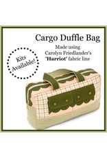 Harriot Cargo Duffle Kit-  Pattern Included
