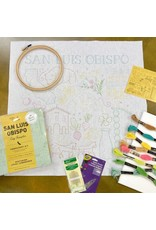 Picking Daisies SLO City Embroidery Sampler Kit
