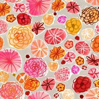 August Wren Spice Things Up, Boppy Floral in Multi, Fabric Half-Yards STELLA-DAW1201