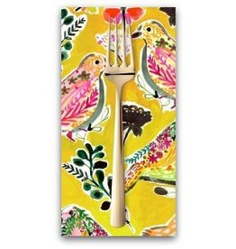PD's August Wren Collection Spice Things Up, Harvest Birds in Multi, Dinner Napkin