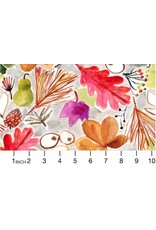 PD's August Wren Collection Spice Things Up, Autumn in Multi, Dinner Napkin