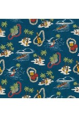 Sevenberry Island Paradise Life in Ocean, Fabric Half-Yards SB-4143D1-4