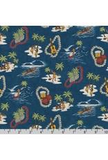 Sevenberry Island Paradise Life sein Ocean, Fabric Half-Yards SB-4143D1-4