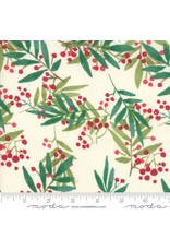 Christmas Collection Splendid, Christmas Holly in Cream, Dinner Napkin