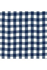 Moda Bonnie & Camille Wovens, Check in Navy, Fabric Half-Yards 12405 30