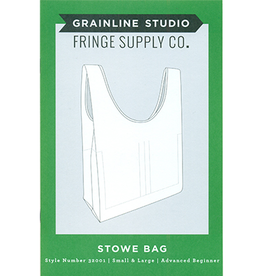 Grainline Studio Grainline's Stowe Bag Pattern