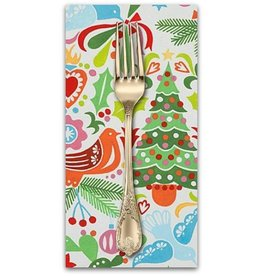 Christmas Collection Christmas Time, Paloma Navidad in Multi, Dinner Napkin