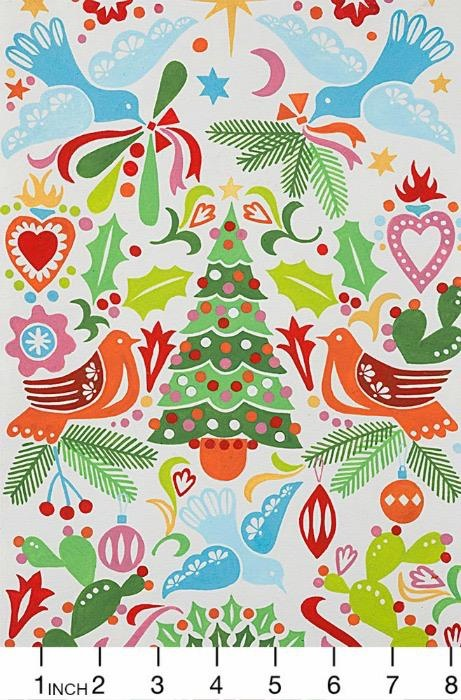 Christmas Collection Christmas Time, Paloma Navidad in Multi, Dinner Napkin