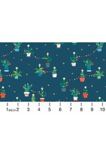 Christmas Collection Fa La La Llama, Holiday Cacti in Orion, Dinner Napkin