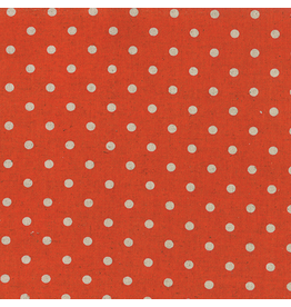 Moda Linen Mochi Dot in Tangerine, Fabric Half-Yards 32910 17