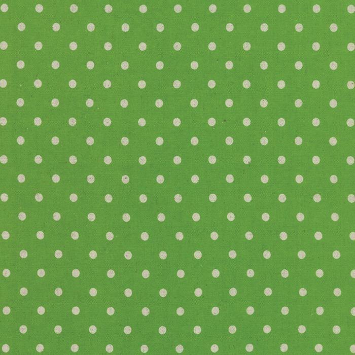 Moda Linen Mochi Dot in Fresh Grass, Fabric Half-Yards 32910 45L