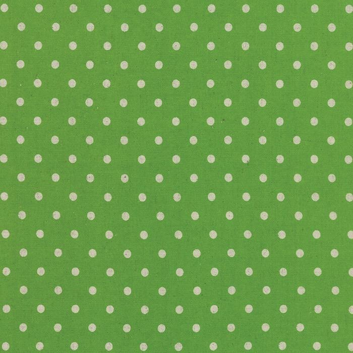 PD's Linen Blend Collection Linen Mochi Dot in Fresh Grass, Dinner Napkin