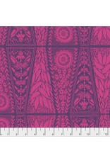 Anna Maria Horner Second Nature, Dresden Lace in Fuchsia, Fabric Half-Yards PWAM008