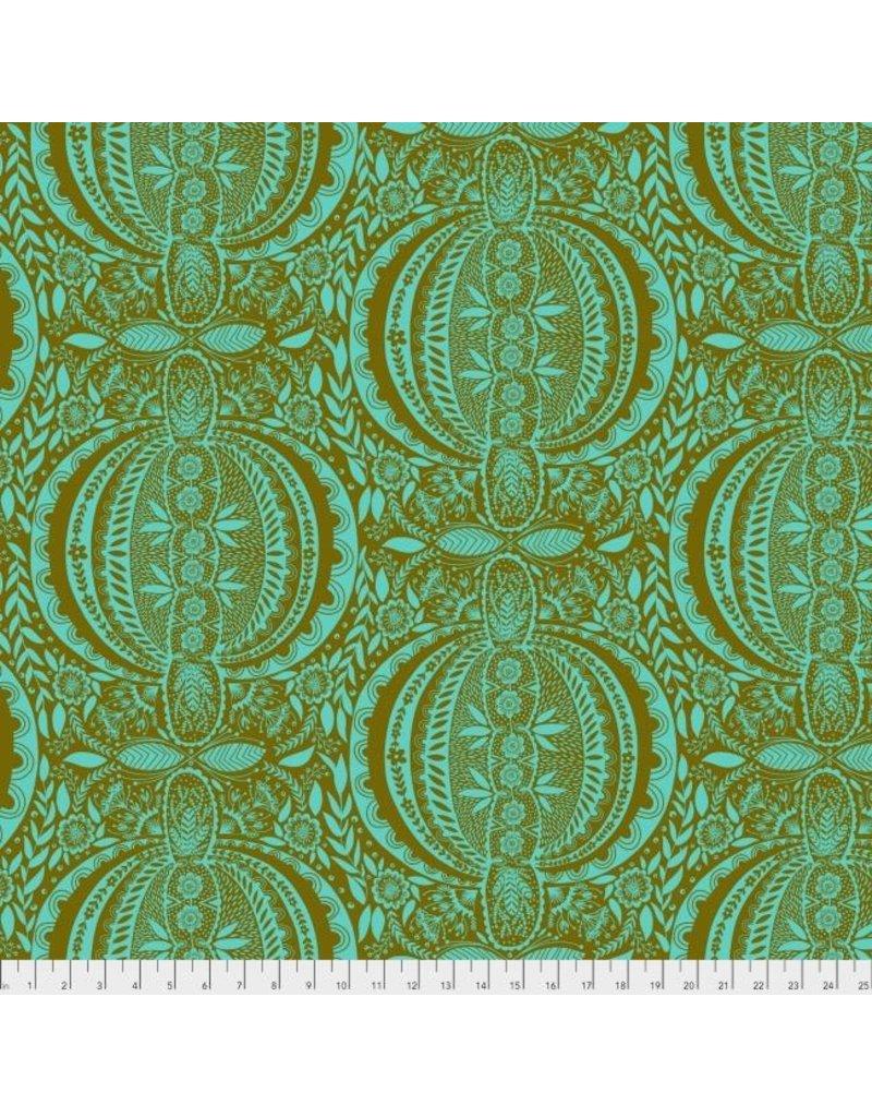 Anna Maria Horner Second Nature, Propagate in Patina, Fabric Half-Yards PWAM006