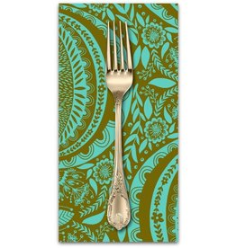 PD's Anna Maria Horner Collection Second Nature, Propagate in Patina, Dinner Napkin