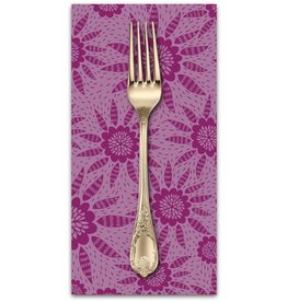 PD's Anna Maria Horner Collection Second Nature, Joy in Garnet, Dinner Napkin