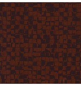 Carolyn Friedlander Instead, Tetragon in Brown, Fabric Half-Yards AFR-18637-16