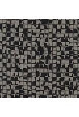 Carolyn Friedlander Instead, Tetragon in Zinc, Fabric Half-Yards AFR-18637-399