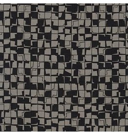 Carolyn Friedlander Instead, Tetragon in Zinc, Fabric Half-Yards AFR-18637-399
