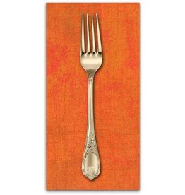 PD's Moda Collection Grunge in Russet Orange, Dinner Napkin