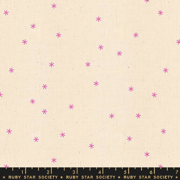 PD's Ruby Star Society Collection Ruby Star Society, Spark in Neon Pink, Dinner Napkin