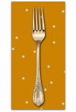 PD's Ruby Star Society Collection Ruby Star Society, Spark in Butterscotch, Dinner Napkin