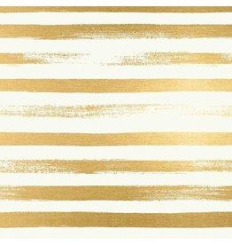 Rashida Coleman-Hale Ruby Star Society, Zip in Gold Metallic, Fabric Half-Yards RS1005 24M
