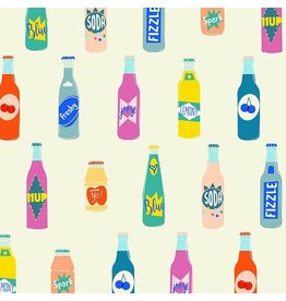 Rashida Coleman-Hale Ruby Star Society, Pop in Cream Soda, Fabric Half-Yards RS1001 11