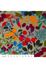 PD's Alexander Henry Collection Wilderberry in Sage, Dinner Napkin