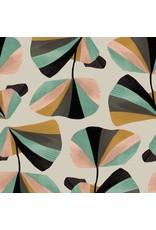 Cotton + Steel In Bloom, In Bloom in Seafoam, Fabric Half-Yards ST100-SE2