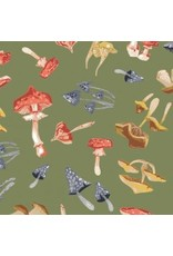PD's Rae Ritchie Collection Hygee, Mushrooms in Moss, Dinner Napkin