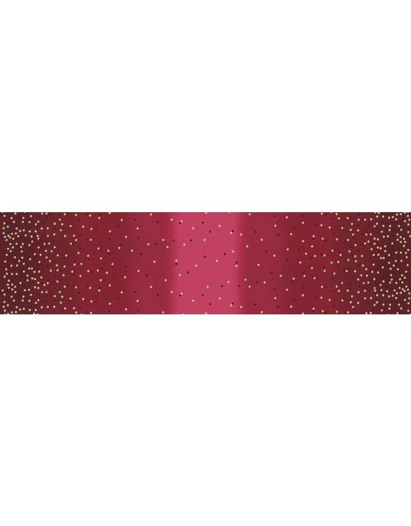 V & Co. Ombre Confetti New in Burgandy, Fabric Half-Yards 10807 317M
