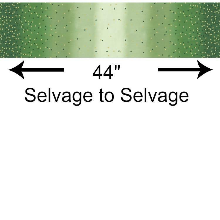V & Co. Ombre Confetti New in Evergreen, Fabric Half-Yards 10807 324M