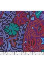 PD's Kaffe Fassett Collection Kaffe Collective, Bali Brocade in Purple, Dinner Napkin
