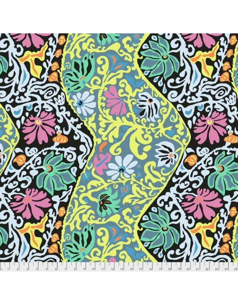 Brandon Mably Kaffe Collective 2019, Bali Brocade in Contrast, Fabric Half-Yards  PWBM069