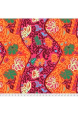 Brandon Mably Kaffe Collective 2019, Bali Brocade in Red, Fabric Half-Yards  PWBM069