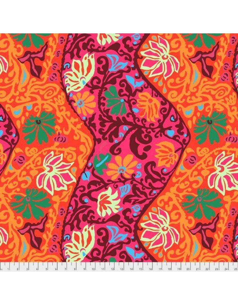 Brandon Mably Kaffe Collective, Bali Brocade in Red, Fabric Half-Yards  PWBM069