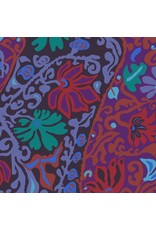 Brandon Mably Kaffe Collective 2019, Bali Brocade in Purple, Fabric Half-Yards  PWBM069