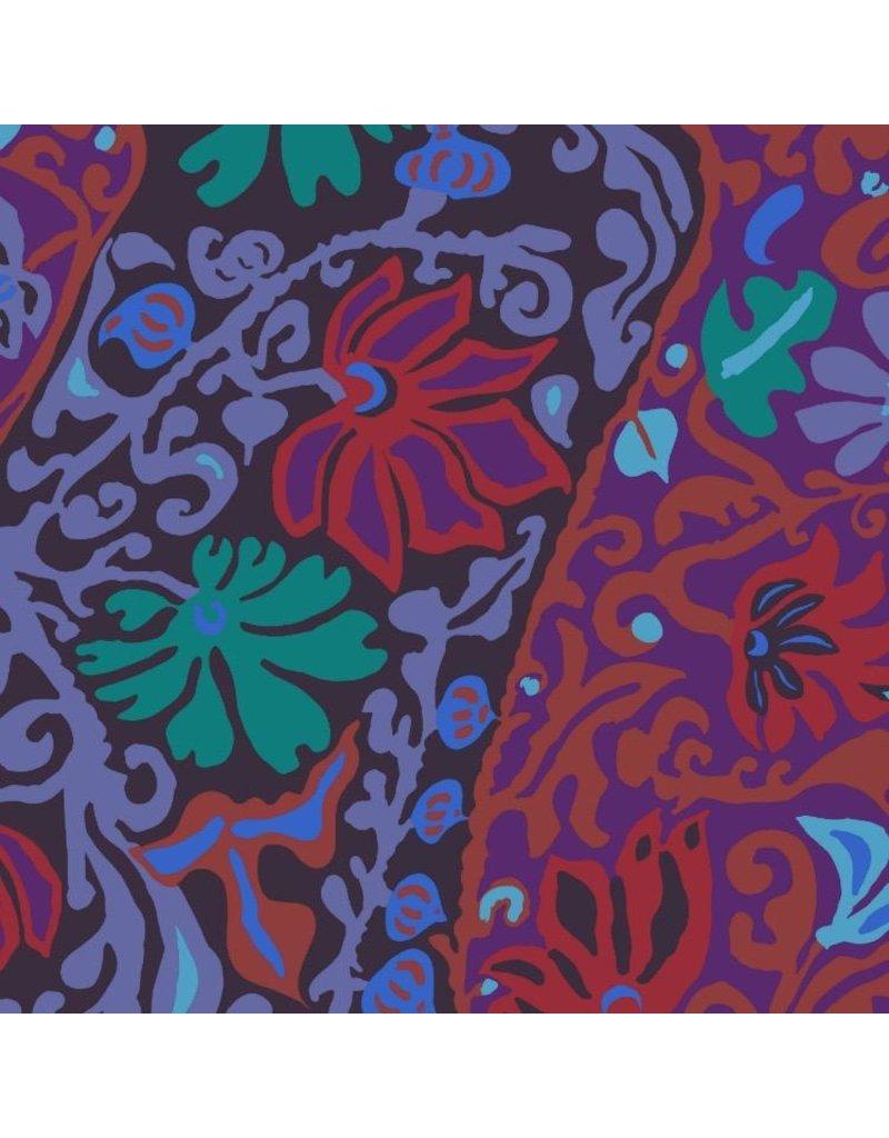Brandon Mably Kaffe Collective 2019, Bali Brocade in Purple, Fabric Half-Yards  PWBM069