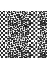 Brandon Mably Kaffe Collective, Chips in White, Fabric Half-Yards  PWBM073